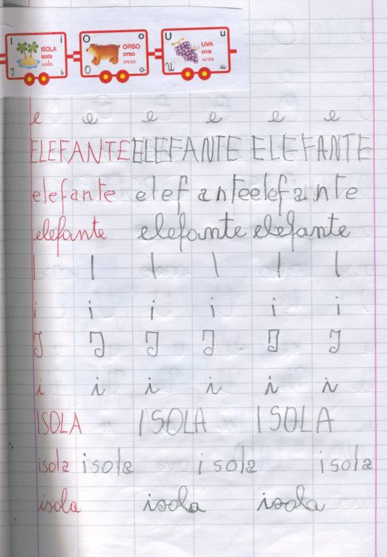 Il Mio Primo Quaderno A Righe Quarta Parte Maestra Rosa Sergis Blog